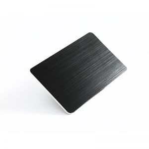 Blank Metal Business Cards Wholesale