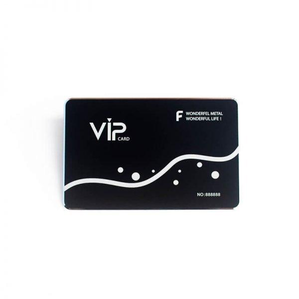 Custom Metal Membership Cards