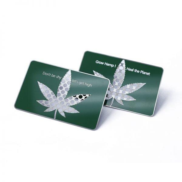 weed grinder card