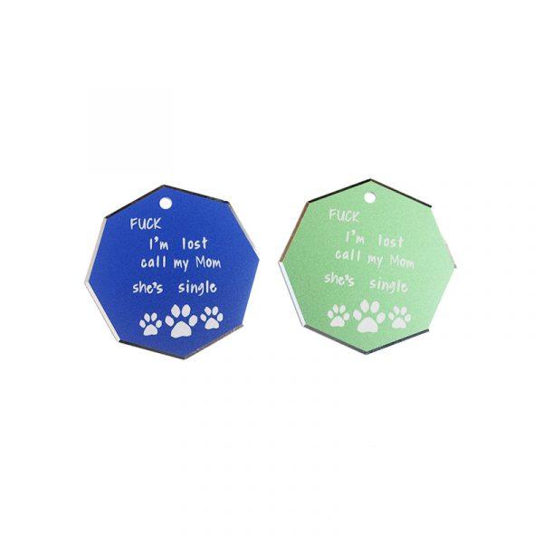 Custom Engraving Dog Tags