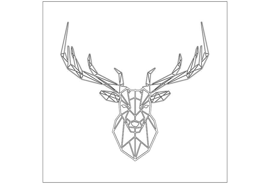 Black Metal Coasters Drawing