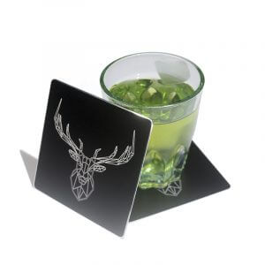 Hot Selling Black Metal Coasters Supplier & Manufactures