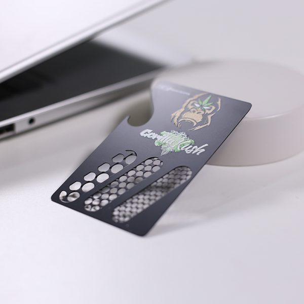 Credit Card Herb Grinder