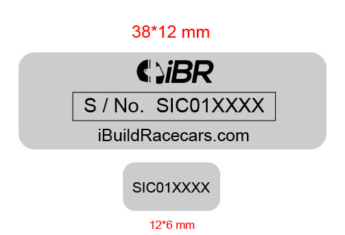Hot Selling Metal Barcode Labels 5