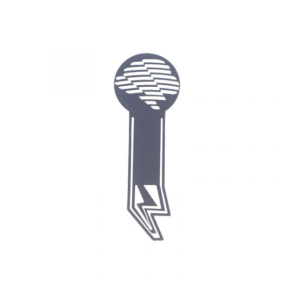 Blank Metal Bookmarks