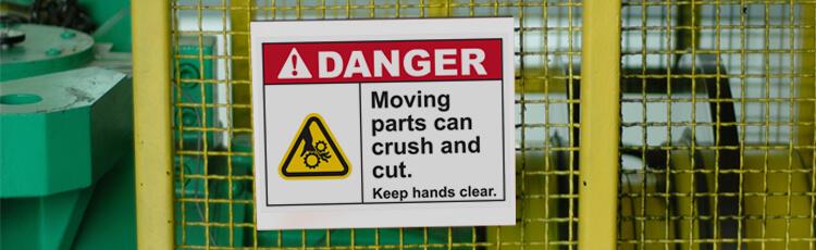 Sticking a Warning Sign