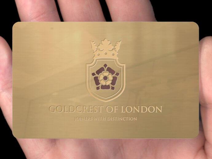 Storage of Metal Membership Cards
