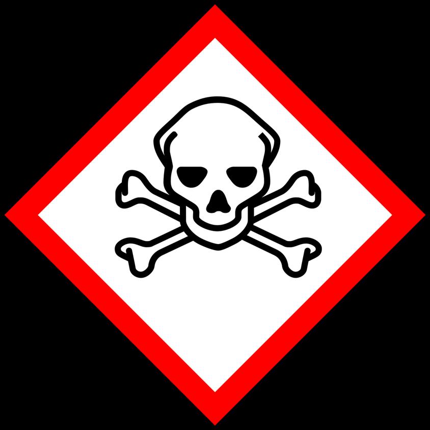 Danger safety symbol
