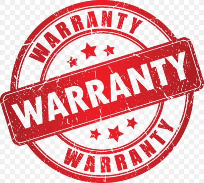 Warranty period for warning signs