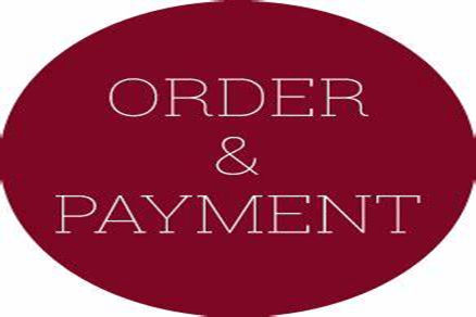 Order and payment