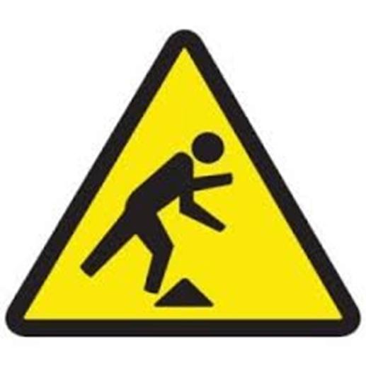 Trip safety symbol