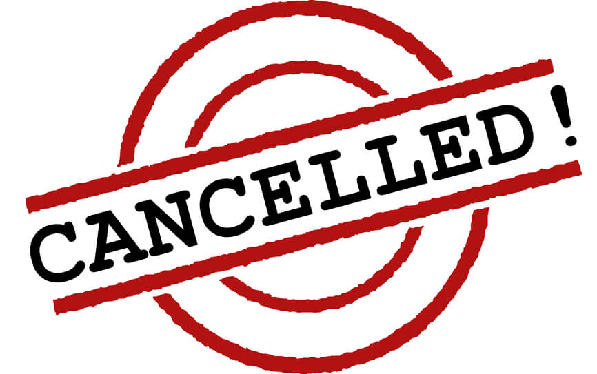 Cancelled Order