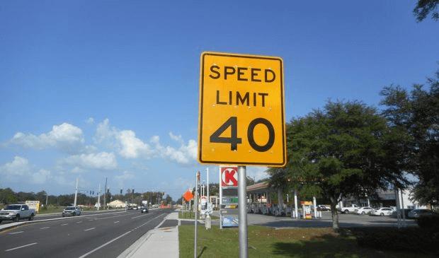 traffic warning sign