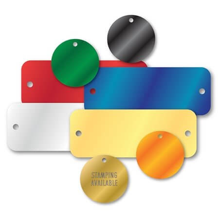 Aluminium Blank Colours