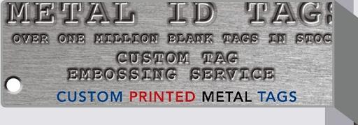 Designing Metal ID Tags