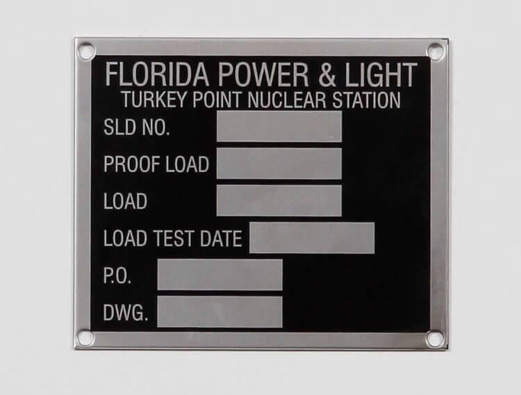 Metal ID Tag Custom Design