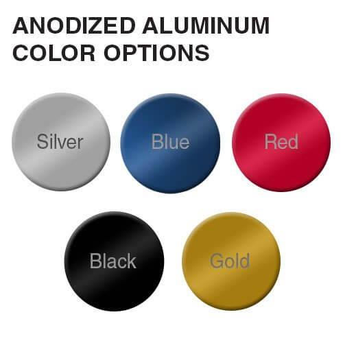 Anodized Colour Options