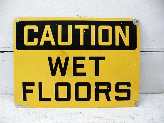 Floor Warning Signs and Symbols