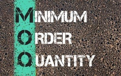 Minimum number of orders for customizing grinder cards
