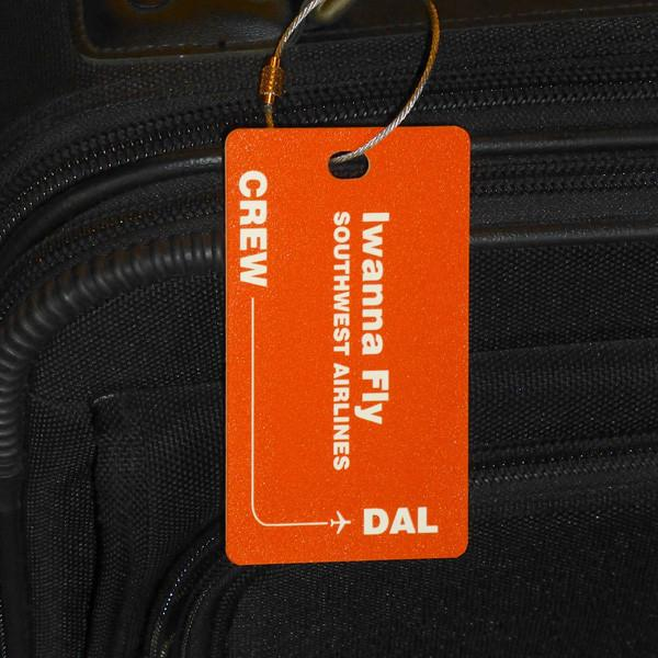 Positioning Metal Luggage Tag