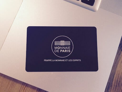 Printing of Metal Membership Cards