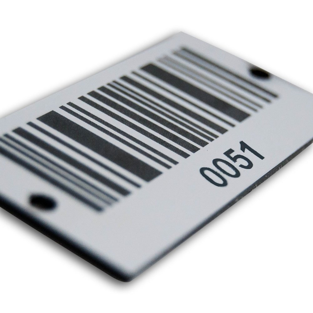 Size of Asset ID Tags