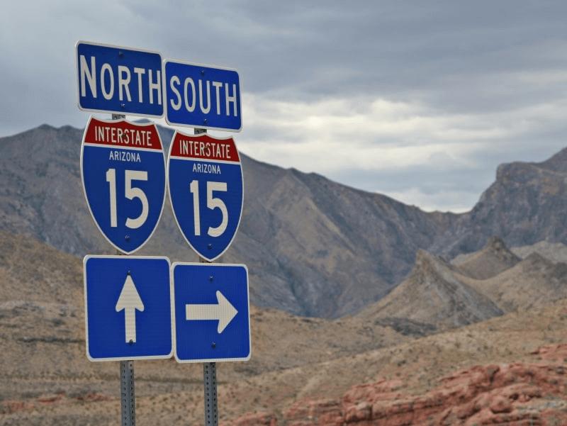 Customized warning sign road