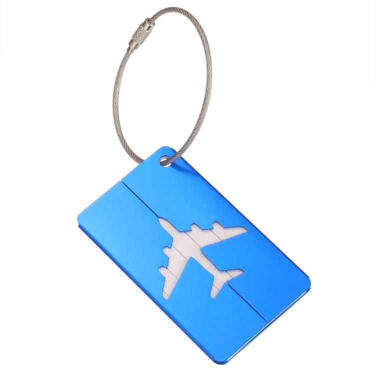 Customized Metal Luggage Tag