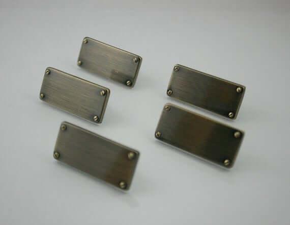 Packaging Aluminium Tags