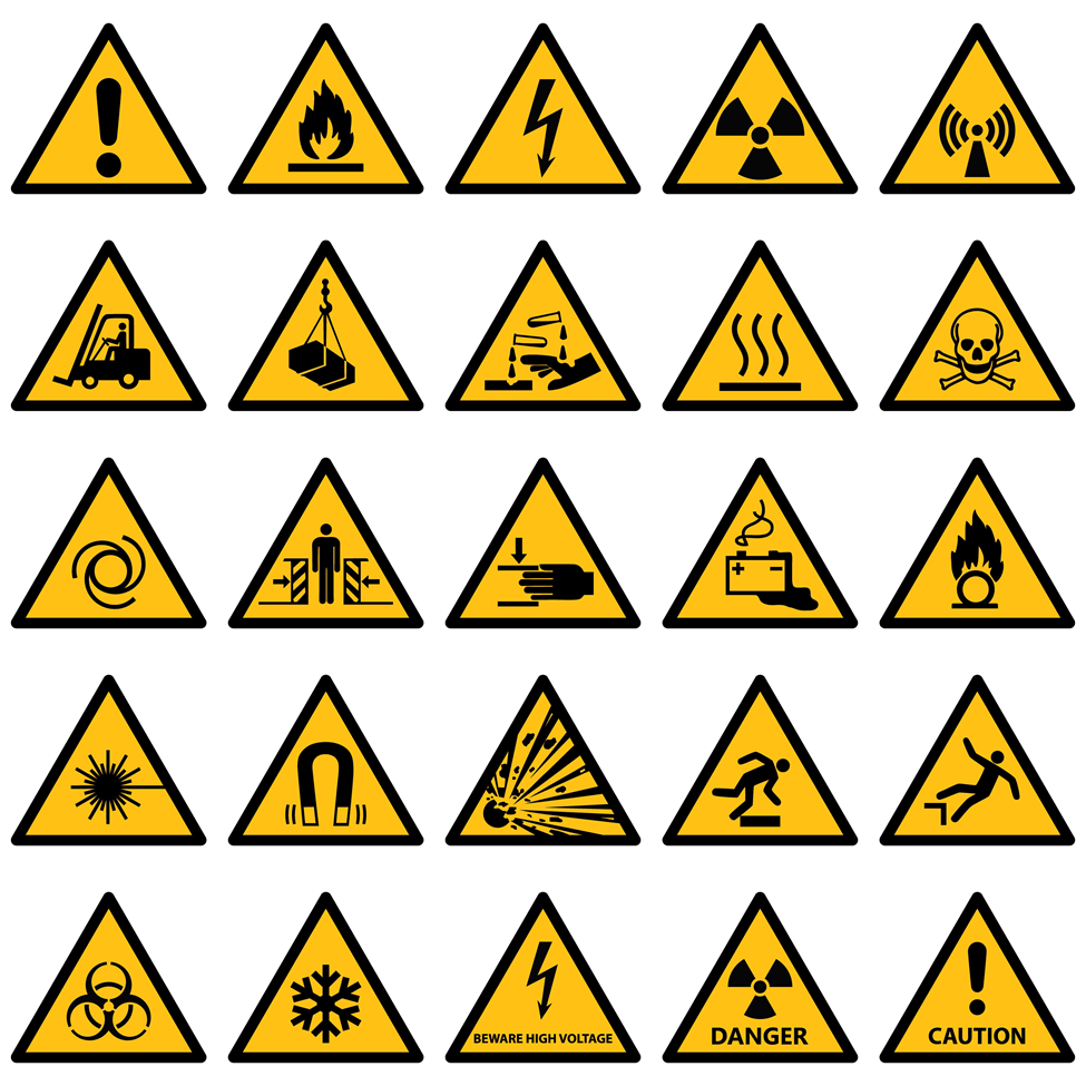examples of warning signs