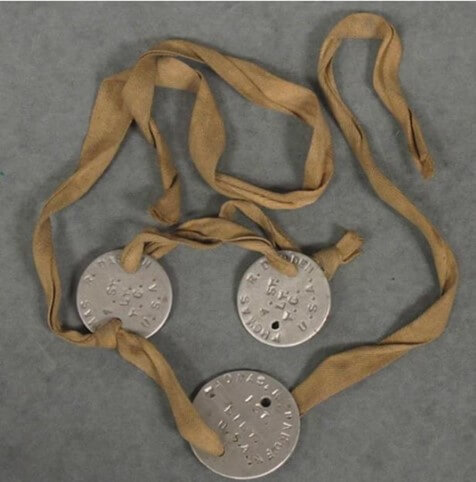 the earliest form of dog tag