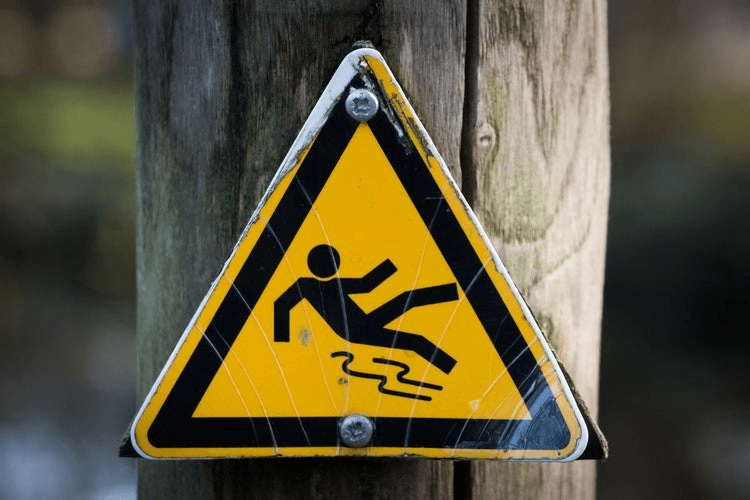 warning sign color