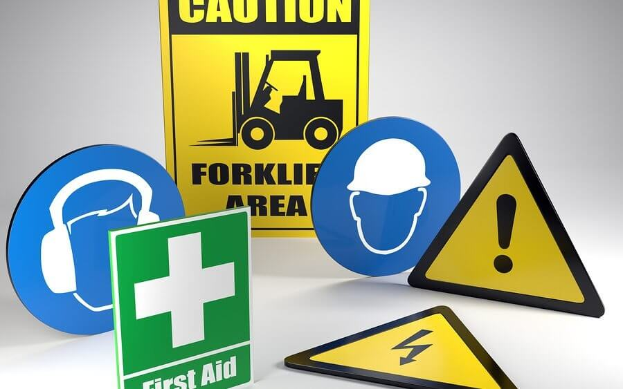 Replacement of Safety Signs Workplace