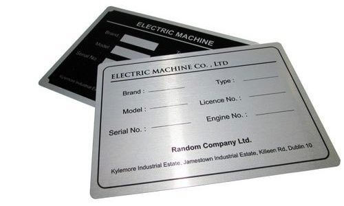 Types of Aluminum Labels